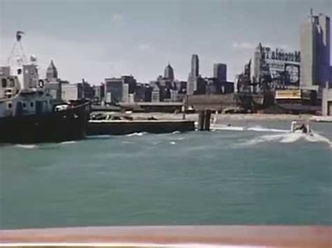 free boat rides in chicago 1956 chicago river boat ride youtube