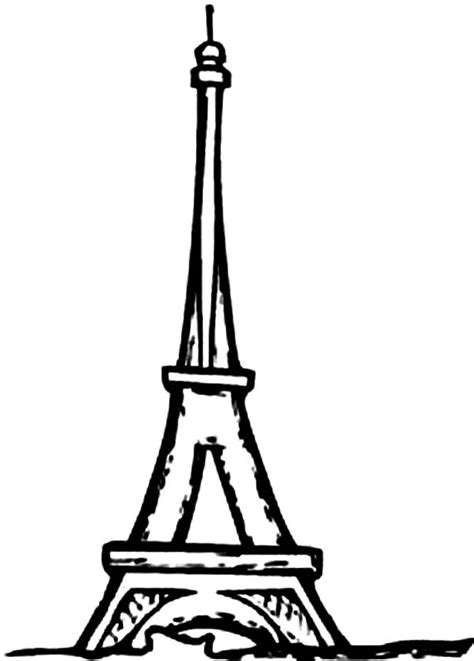 film eiffel i m in love free download eiffel tower coloring page clipart best