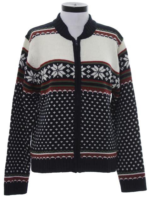 Snow Knit Top Khaki Blue 30505 90s vintage size label only sweater 90s vintage size label only womens midnight blue winter