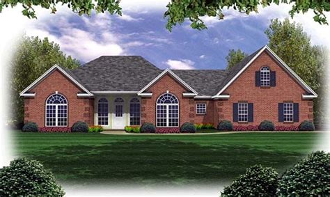 french country ranch house plans european french country ranch traditional house plan 59032