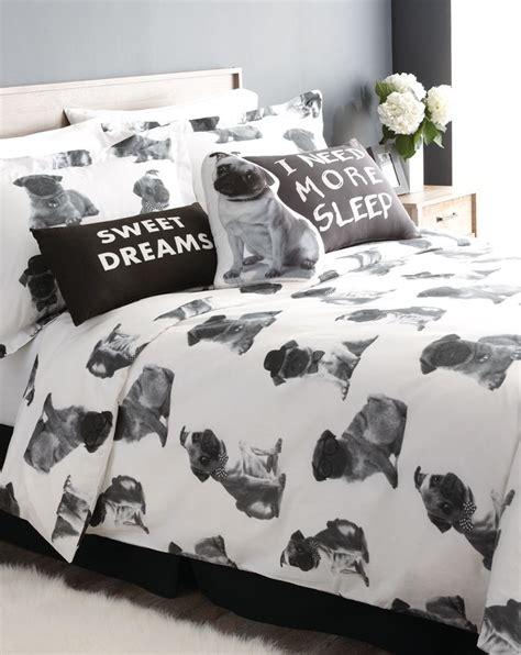 pugs  playful  cuddly    bedding   adorable pooch print fun  kids