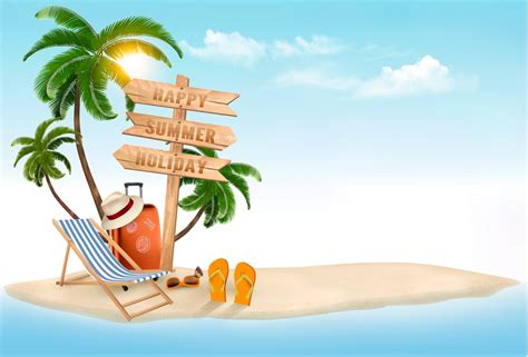 tropical beach coloring pages how to create a summer vacation background in adobe