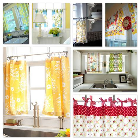 Sew Kitchen Curtains Inspiration Kitchen Curtains To Sew A Sewing Journal
