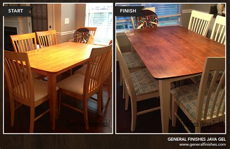 general finishes transformation tuesday java gel stain