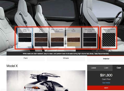 Tesla Model X Options Tesla Bundles Model X Interior Options In Effort To