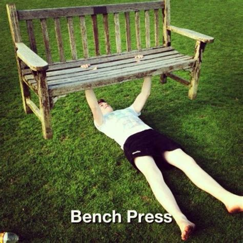 bench funny il you like bench pressing repin and like this meme