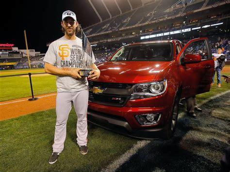 Trucker Dude World Series Mvp Bumgarner Doesn T Where That