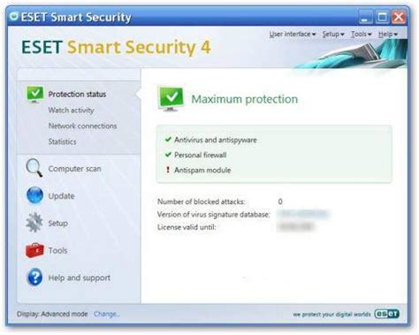 free eset smart security home edition for 6 months