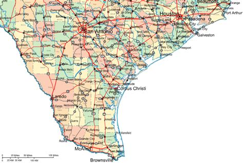 map of southern texas map of southern texas kelloggrealtyinc