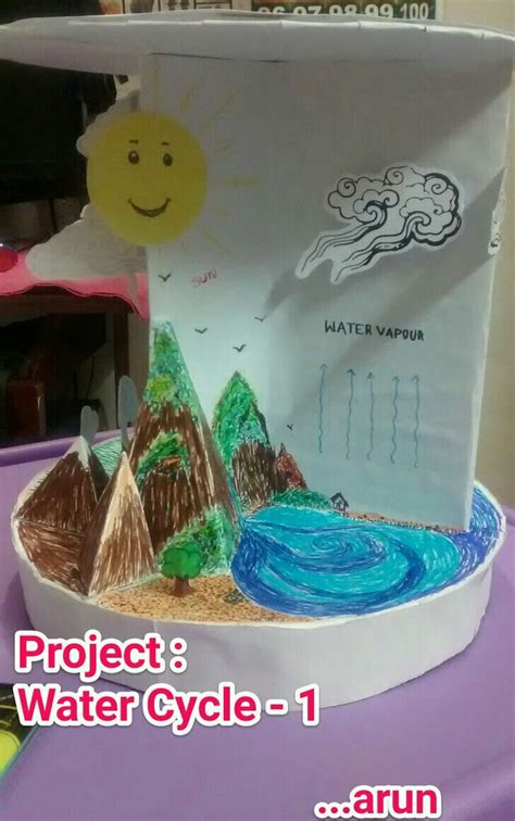 children water cycle project for ruthvik arun