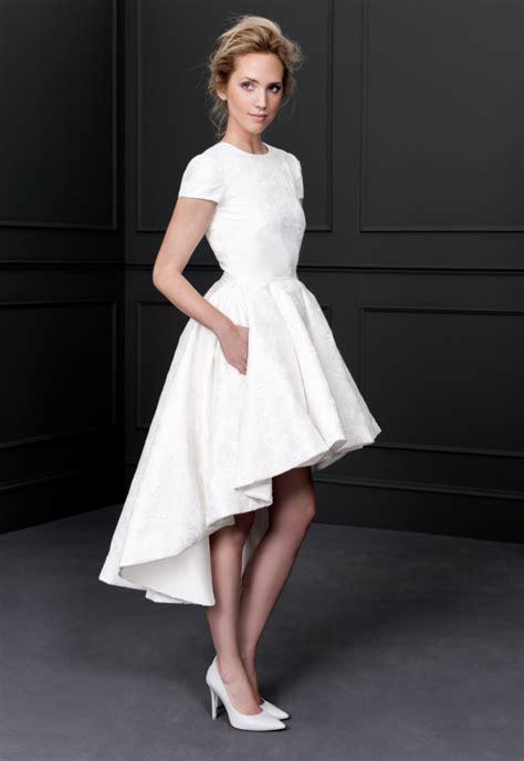 vestido novia civil corto los mejores vestidos de novia cortos 2017