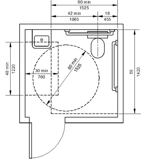 ada restroom floor plans ada bathroom dimensions and guidelines for accessible and