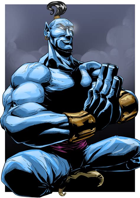 marvel genie by dreviator on deviantart