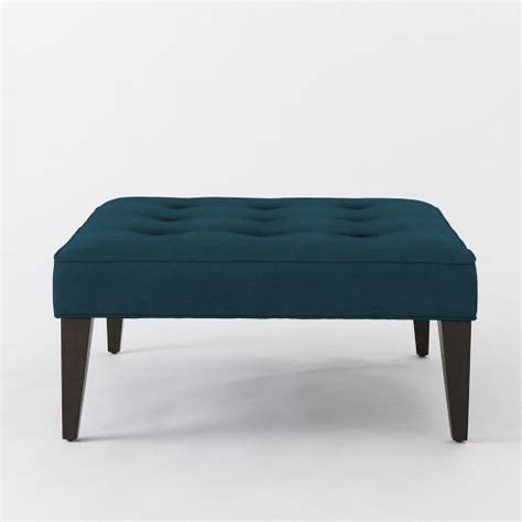 west elm tufted ottoman upholstered tufted ottoman west elm apartments small