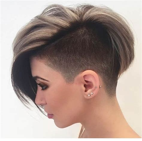 hair style female 50 shaved hairstyles that will make you look like a badass