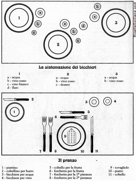 galateo servire a tavola il galateo a tavola ricette siciliane