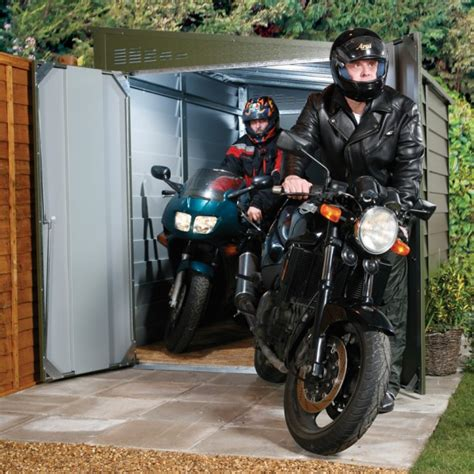 abri moto jardin abri pour moto mcg 960 2 80 x 1 94 x 2 10m votre abri de jardin