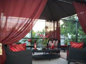 Outdoor Gazebo Curtains Patio Pizazz Indoor Outdoor Gazebo Drapes Curtains Price Includes 2 Panels Ebay