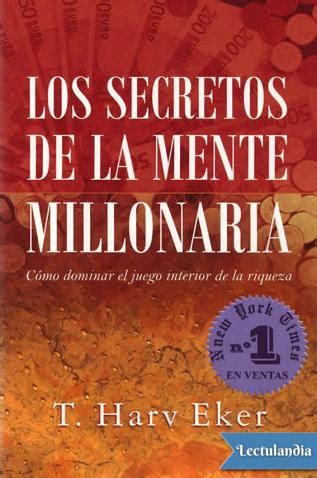 libro la memoria secreta de los secretos de la mente millonaria t harv eker descargar epub y pdf gratis lectulandia