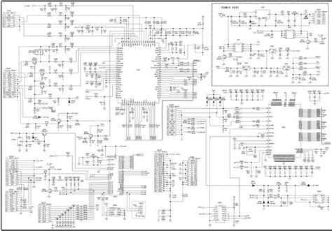 sony led tv circuit diagram 27 wiring diagram images
