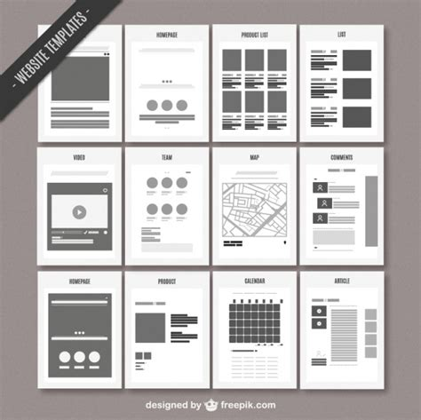 free layout design ai website map template vector free download