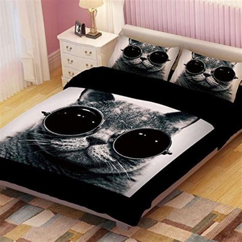 cat comforter sets adorable cat print comforters and bedding sets for cat lovers