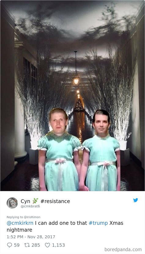 trump white house decorations 30 of the funniest reactions to melania s creepy