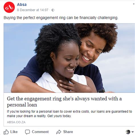 absa gets reprimanded for its buy a ring on loan