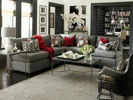 red and black living room decorating ideas inspirational bell 237 simas salas decoradas en gris y rojo