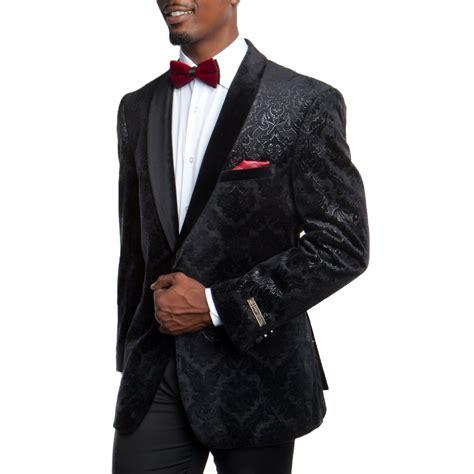 velvet tuxedo jacket floral pattern blazer prom