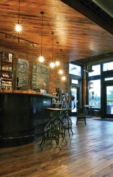 interior designers in michigan great lakes coffee roasting and retail interior on