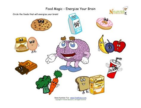 energize your brain with a healthy breakfast activity