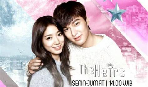 film korea romantis yang dibintangi lee min ho globaltv tayangkan the heirs 3 jam non stop netter