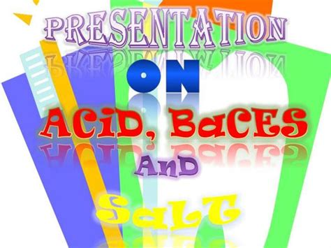 Acids Bases And Salt Authorstream Ppt Of Acid
