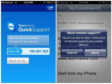 teamviewer mobile samsung teamviewer quicksupport comes to ios android