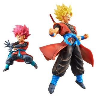 Banpresto Heroes Dxf Set 2 Goku Saiyan 3 Veget dxf heroes set of ssj gokou xeno and beat ssj god 7th anniversary vol 1