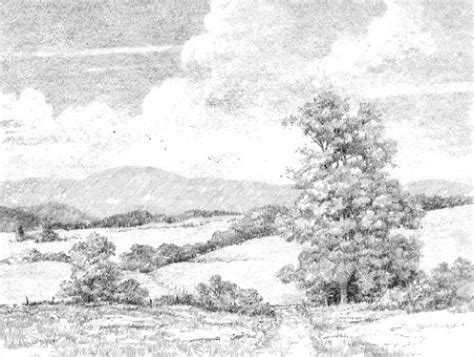 how to draw landscapes how to draw a landscape