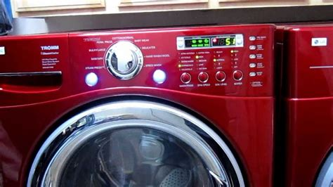 Lg Dryer Pedestal Lg Front Load Washer And Dryer For Sale Youtube