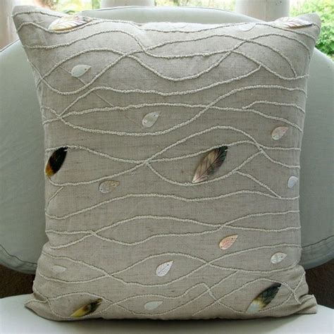 decorative pillow slipcovers decorative throw pillow covers accent couch by thehomecentric