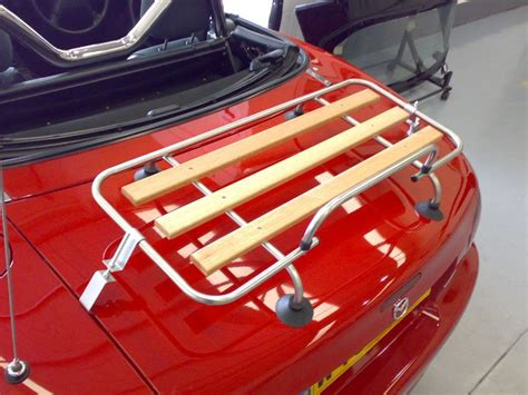 Mazda Miata Luggage Rack by Classic Wood Chrome Luggage Rack Mazda Miata Mx 5