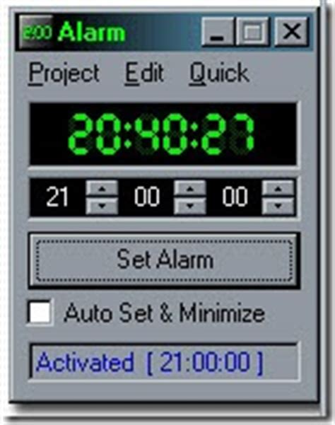 free computer alarm clock software for windows