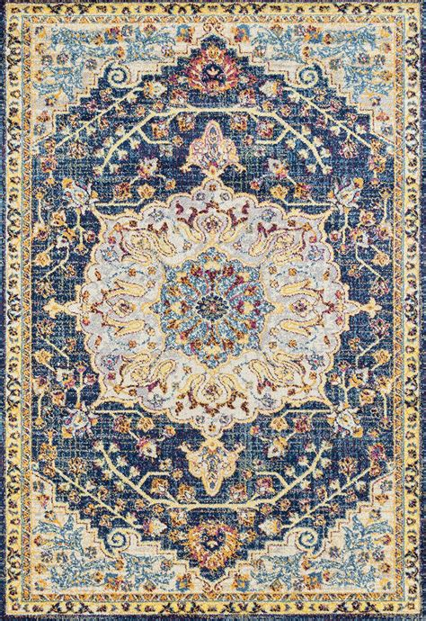 Distressed Blue Rugs - abigall blue distressed rug the log furniture store