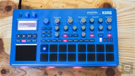 Korg Electribe 2 Metallic Blue korg electribe 2 blue synth for sale in stillorgan dublin from bowow97