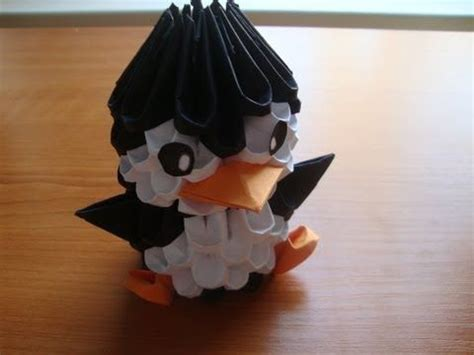 3d Origami For Beginners - 3d origami origami and penguins on