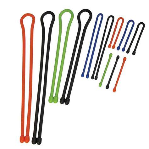 twist ties geartie 12 rubber twist tie set nite ize inc gtmp