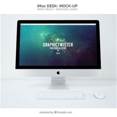 scrivania imac graphictwister freepik