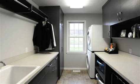Black Laundry Room Cabinets Modern Laundry Room Black Laundry