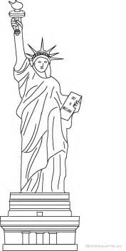statue of liberty coloring page statue of liberty coloring page to print