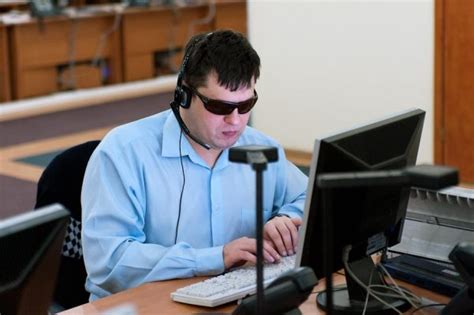 Do Blind Work the right to work but how do we accommodate persons with