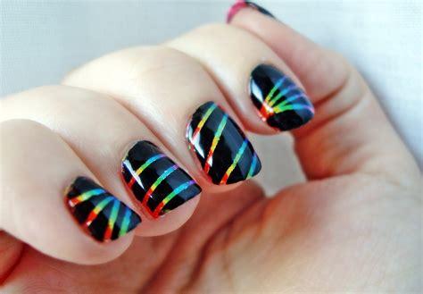 imagenes de uñas acrilicas para adolescentes u 241 as decoradas con puntos y rayas los mejores dise 241 os de